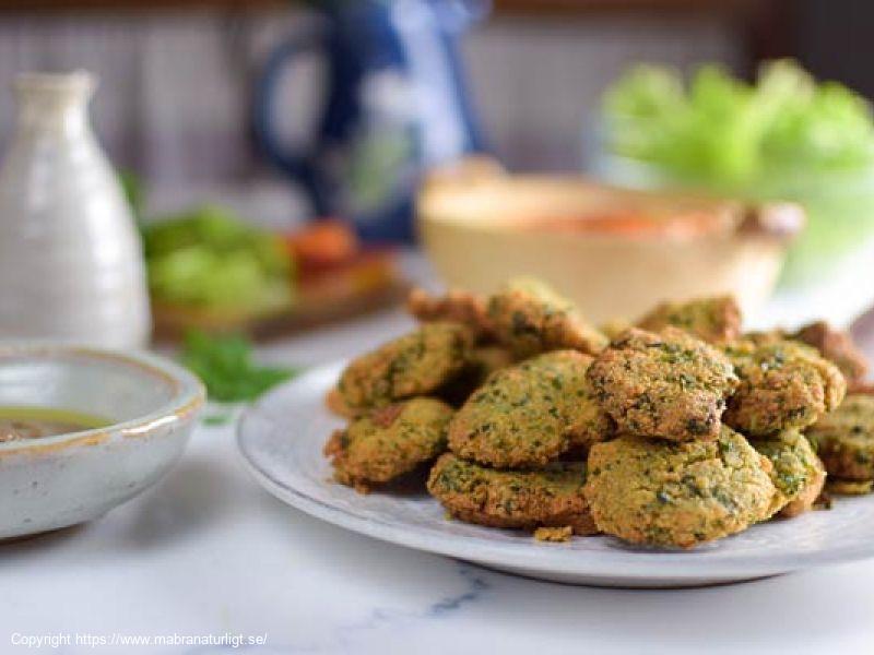 Glutenfri Hälsosam Falafel