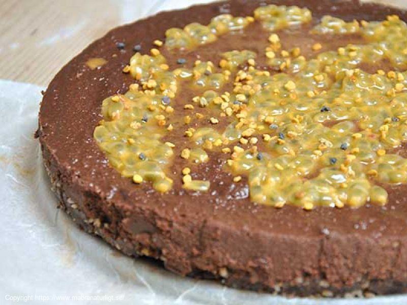 Mörk Chokladtårta (raw, glutenfri)