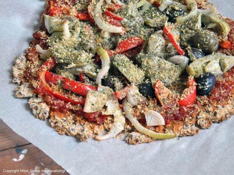 Vegansk BlomkålsPizza